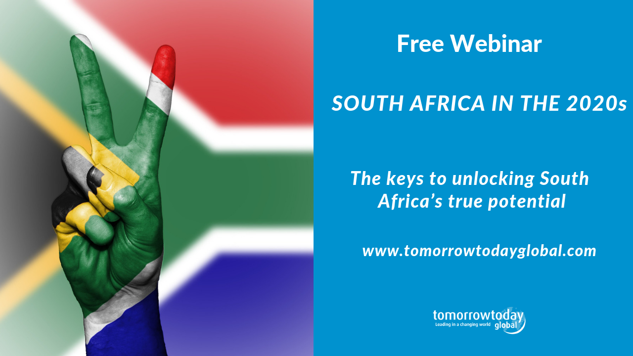 Free webinar – South Africa in the 2020s