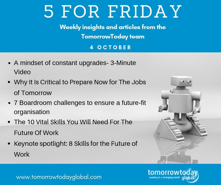 5 for Friday – 4 October