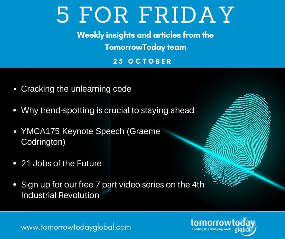 5 for Friday – 25th October