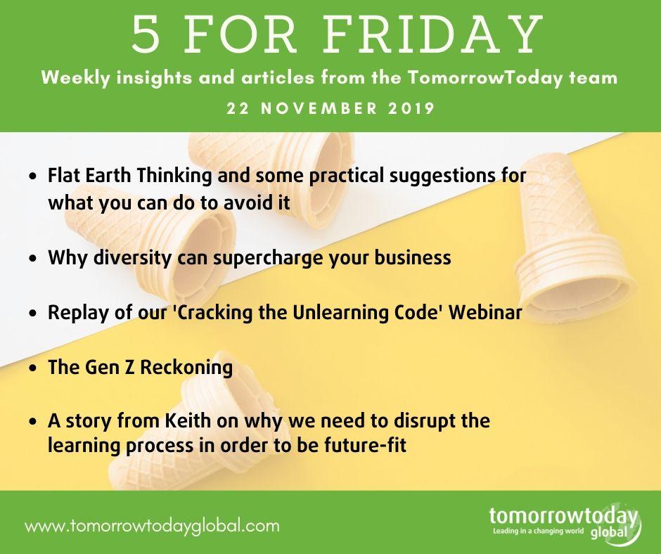 5 for Friday – 22 Nov