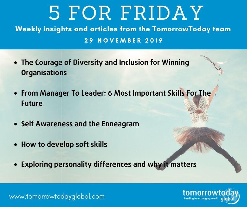 5 for Friday – 29 November