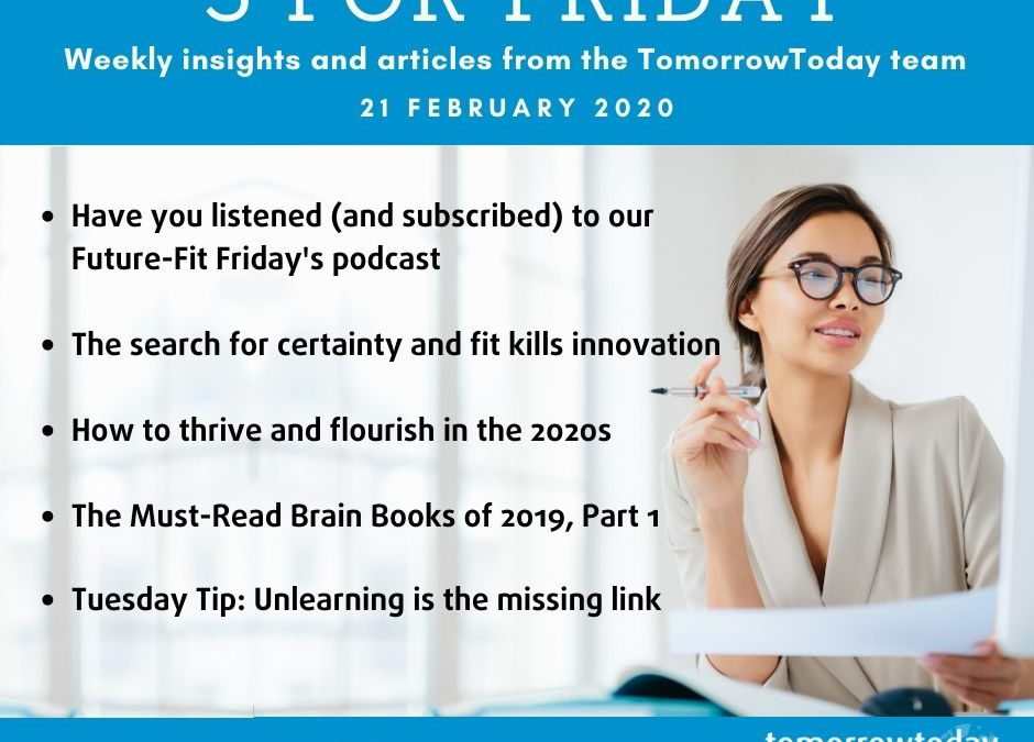 Five for Friday – 21 Feb