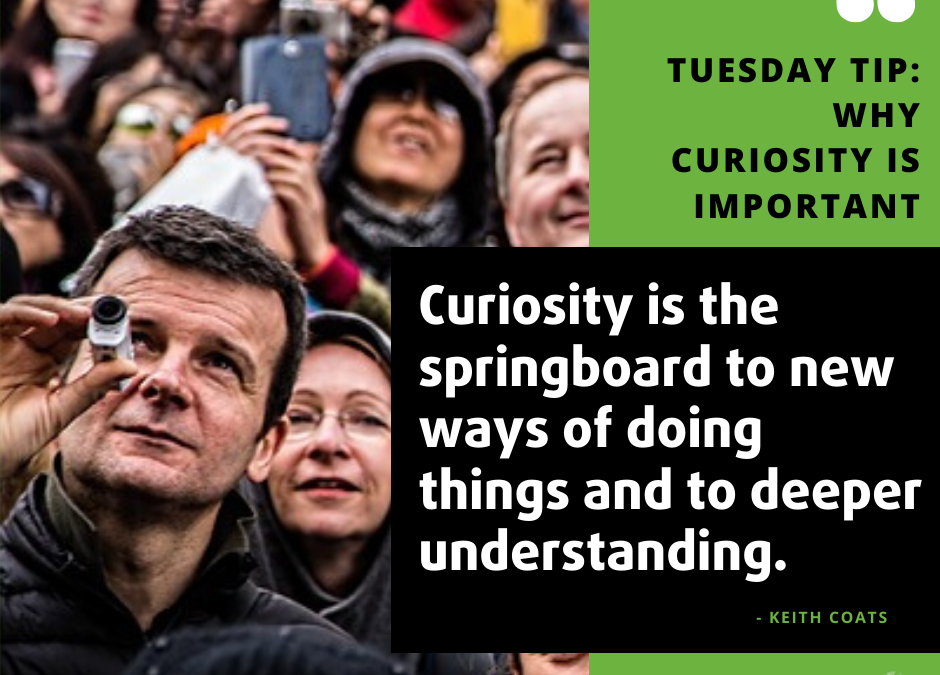 Tuesday Tip: Why curiosity is so important