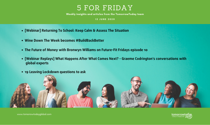 Five for Friday: 12 June 2020
