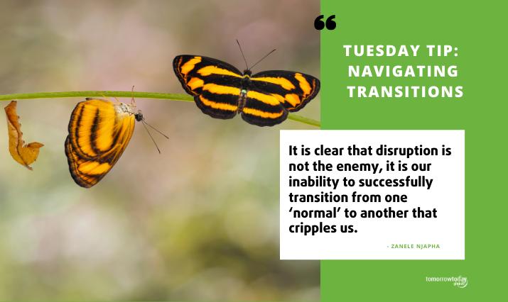 [A New Framework] Navigating Transitions