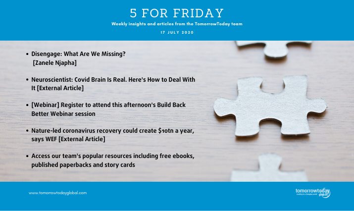 five for friday 17 july