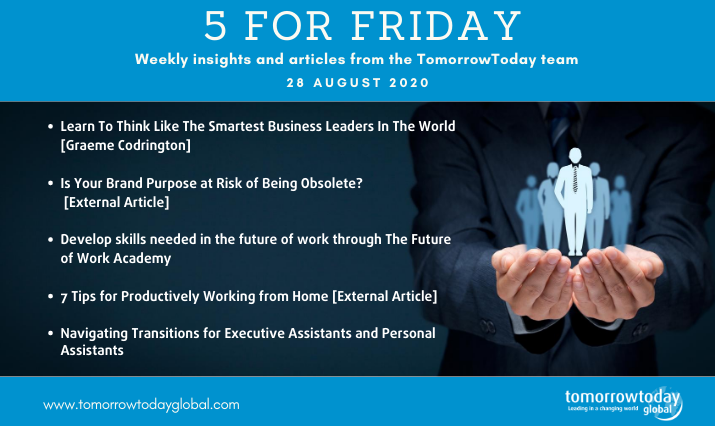 Five for Friday: 28 August