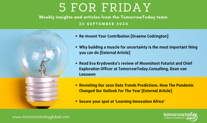 five for friday 25 september