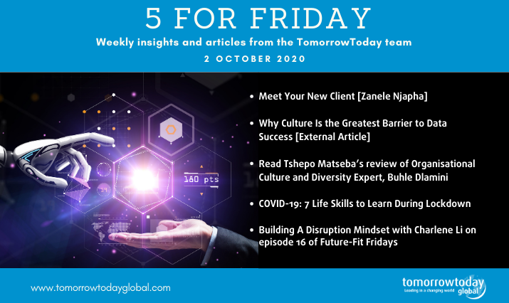 Five for Friday: 2 October