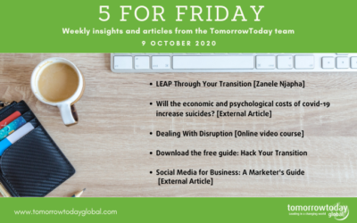 Five for Friday: 9 October
