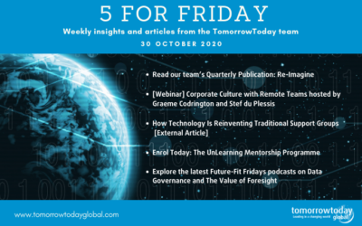Five for Friday: 30 October