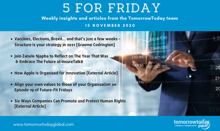 Five for Friday: 13 November