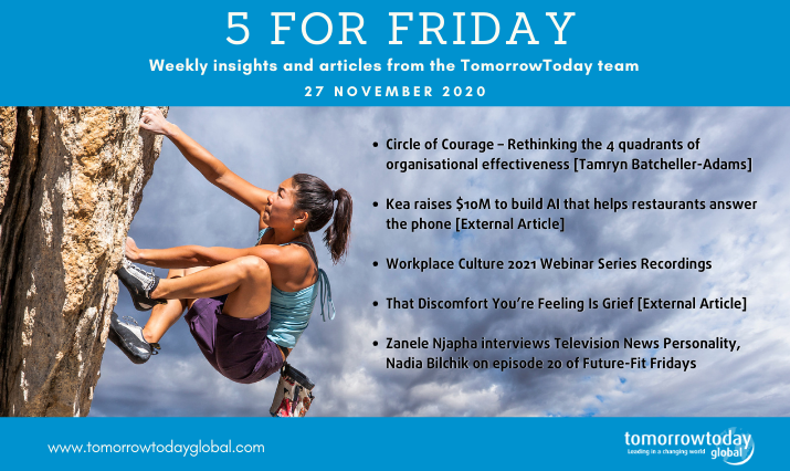 Five for Friday: 27 November