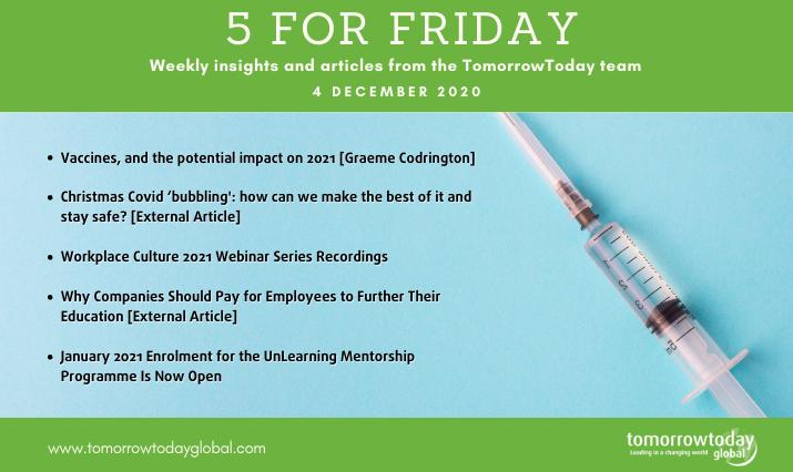 Five for Friday: 4 December