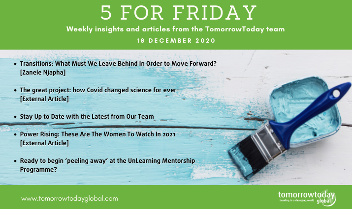 Five for Friday: 18 December