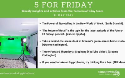 Five for Friday: 21 May 2021