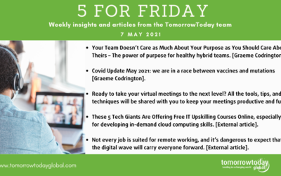 Five for Friday: 7 May