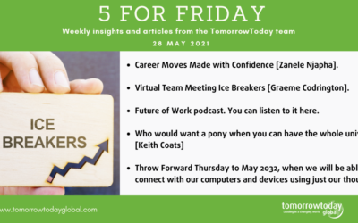 Five for Friday: 28 May 2021
