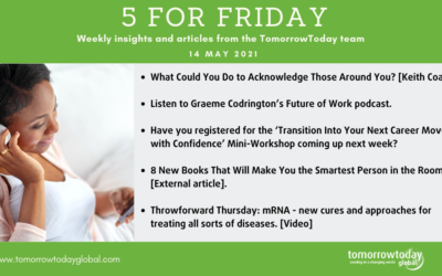 Five for Friday: 14 May 2021