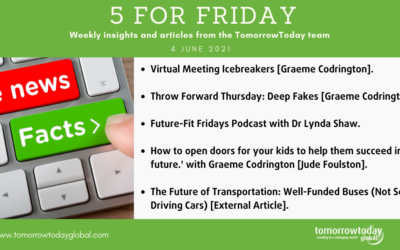 Five for Friday: 4 June 2021