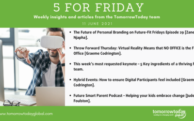 Five for Friday: 11 June 2021